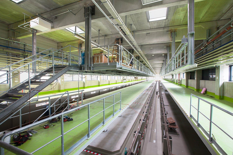 U1/11 Umbau Betriebsbahnhof Wasserleitungswiese