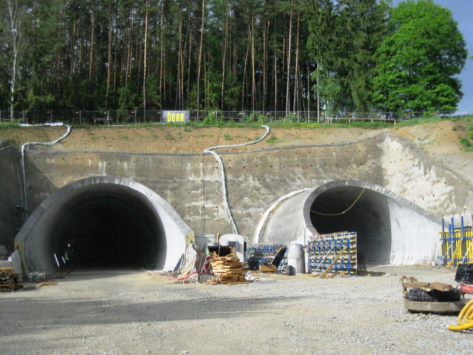 Südortal Tunnel Manzenreith