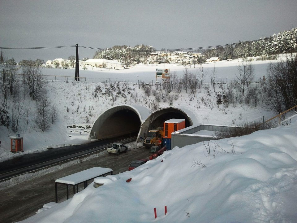 Südportal Tunnel Neumarkt